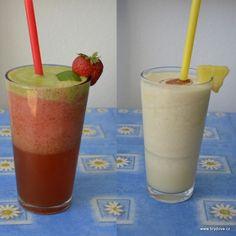 Smoothie Mojito a Piňacolada