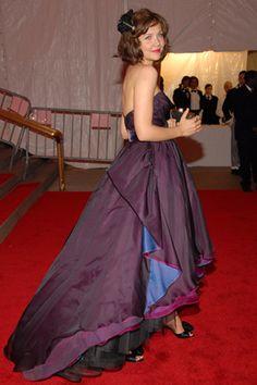 Maggie Gyllenhaal wearing Peter Som