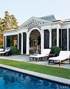 Tory Burch's new Southampton home in Vogue March 2012
