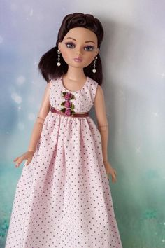 Tonner Ellowyne Lizette Amber, Dress Outfit by Martha! BJD NEW OOAK #Ellowyne #DollswithClothingAccessories