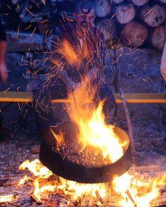La magia drl fuoco... e delle caldarroste ;) - @FrancescaR77