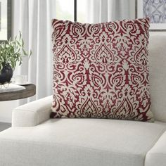 """Three Posts™ Manford 32"""" Wide Genuine Leather Round Storage Ottoman & Reviews   Wayfair Floral Throws, Floral Throw Pillows, Decorative Throw Pillows, Rod Pocket Curtains, Panel Curtains, Curtain Panels, White Area Rug, Beige Area Rugs, Round Storage Ottoman"""