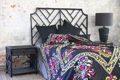 single, double, queen or king Brookhaven rattan bedheads. Rattan Furniture, Furniture Ideas, Bed Head, Spare Room, Comforters, Bedroom Decor, Blanket, Black And White, Bedrooms