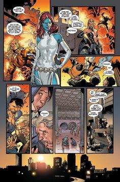 Previews for All MARVEL Titles Shipping April 3, 2013 Comic Book Writing, Comic Book Pages, Comic Book Artists, Comic Book Covers, Comic Artist, Comic Books Art, Marvel Comics, Fun Comics, Stuart Immonen
