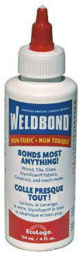 Weldbond can even be used to seal ink jet images before doming