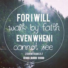 ♥ 2 CORINTHIANS 5:7