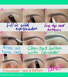Brows make up
