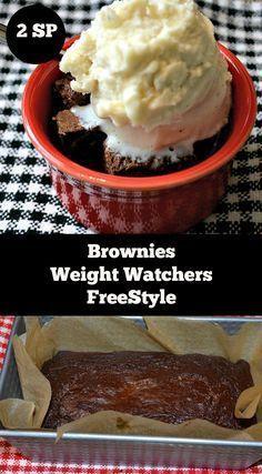 Brownies Weight Watchers Freestyle   www.momsownwords.com