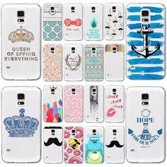 """Купить товарТелефон чехол для Samsung Galaxy S4 бесплатная доставка милый мультфильм сексуальные рот шаблон прозрачные мягкие ( WHD1417 41   60 ) в категории Сумки и чехлы для телефоновна AliExpress.          Это наш телефон случаях            Romantic Beautiful Scenery Soft Silicon Phone Cases For Apple iPhone 6 4.7"""""""