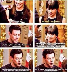 Now there's a star named Cory watching over Lea. #CoryIsLeasGuardianAngel pic.twitter.com/pk4i4c2KnP