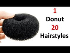 20 hairstyles in 1 donut Donut Bun Hairstyles, Braided Hairstyles For Wedding, Easy Hairstyles For Long Hair, Party Hairstyles, Cute Hairstyles, Hairstyle Wedding, Kids Hairstyle, Creative Hairstyles, Beautiful Hairstyles