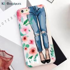 >> Click to Buy << i7 Coque for iphone 6 Case Fashion Girl Sexy Lips Beach Hat Slippers Shell Smooth Cover for iphone 7 6 6S Plus Cases Capa Men #Affiliate
