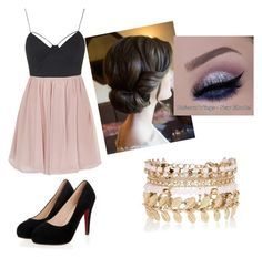 """""""Untitled #19"""" by makanagreen ❤ liked on Polyvore featuring beauty, River Island and Topshop"""