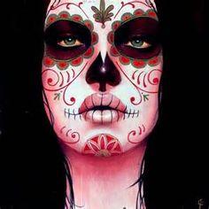 SassyCatMakeup: Sugar Skull Makeup