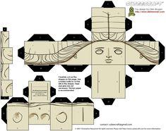 Desktop cube Venus de Milo!  For you Art Historians!