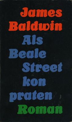 70's Cooper black - James Baldwin - If Beale street could talk, 1974 - book cover