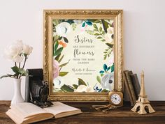 Personalized  Sisters Birthday Gift  Wedding by WordsWorkPrints