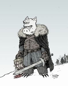 Cerebus by Ramon Villalobos