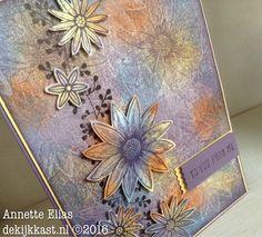 """De Kijkkast: Bloemen van Grateful Bunch in een """"fabric"""" jasje d-INKT-sdag#9"""