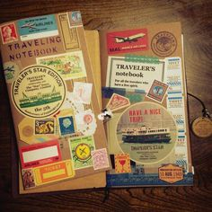 Piece of Mai travel | TRAVELER'S notebook みんなの投稿 - MIDORI