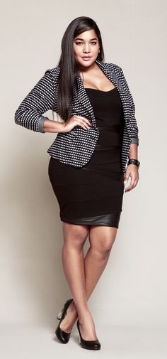 Rock a blazer over your dress for dinner, then ditch it for drinks & dancing!