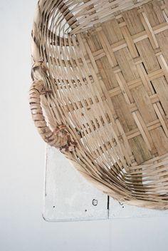 Wicker Basket { julias vita drommar }