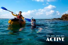 Kayaking, snorkeling, scuba diving, hiking... There are so many options! Which is your favorite way to get active on vacation? barretttravel.globaltravel.com pamelabarrett22@gmail.com