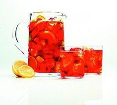 The Stephanie Paige: Martini & Rossi Monviso Sangria Sangria Recipes, Drinks Alcohol Recipes, Yummy Drinks, Party Recipes, Cocktail Recipes, Great Recipes, Favorite Recipes, Holiday Punch, Grilled Lamb