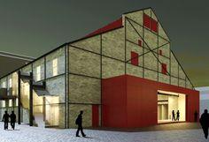 teatro-do-engenho-41.  Teatro do Engenho Central  Piracicaba, Brasil  Escritório Brasil Arquitetura