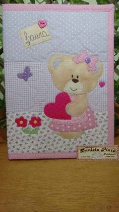 Diy Crafts - super ideas for patchwork quilt baby girl sew Quilt Baby, Quilted Baby Blanket, Baby Patchwork Quilt, Patchwork Quilt Patterns, Baby Girl Quilts, Girls Quilts, Applique Patterns, Applique Quilts, Quilts For Babies