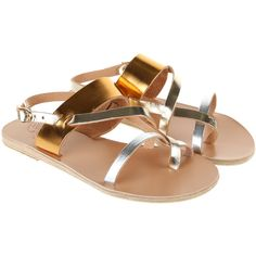 ANCIENT GREEK SANDALS Sandals ($200) ❤ liked on Polyvore