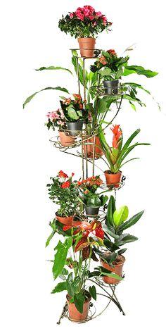 Напольная подставка для цветов на 12 вазонов Спираль 12. Цена: 610грн. Размеры: высота-175см, ширина - 65см, глубина - 65см диаметр горшка: 21см