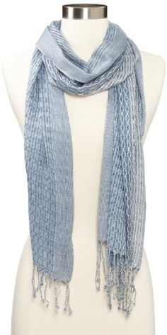 Collection XIIX Women's Geo Overlay Wrap Scarf...($8.99)