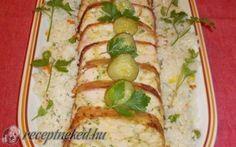 Csirkemell őzgerincben Zucchini, Cooking Recipes, Chicken, Vegetables, Women's Fashion, Food, Fashion Women, Eten