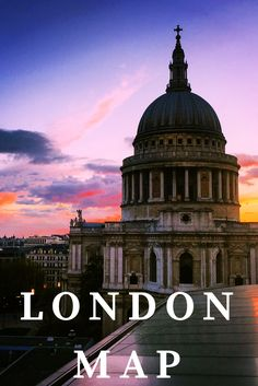 A map to exploring London. Guide to London. Restaurant, bars and sight seeing recommendations in London