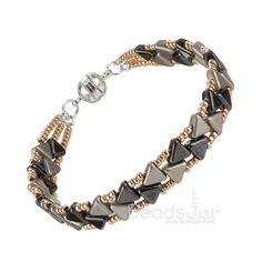 Kheops Par Puca Bead Bracelet.- step by step ~ Seed Bead Tutorials