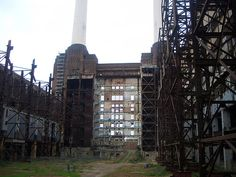 Battersea Power Station. The superior architecture of Battersea has had a less successful outcome. Aggressive developers ripped out the beautiful art deco control room in the 80's.