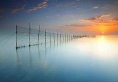 Sunrise in Kuwait City