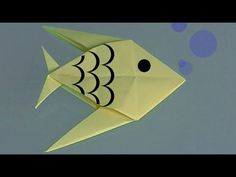 Learn origami, make a paper fish. Watch this video to learn how to make a paper fish in just five minutes.