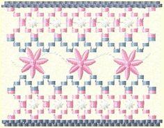 Smocking: Pink Flower Trellis - 4x4   Smocking   Machine Embroidery Designs   SWAKembroidery.com