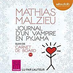 """Encore un livre à écouter absolument sur mon #appliAudible : """"Journal d'un vampire en pyjama"""" par Mathias Malzieu, lu par Mathias Malzieu."""