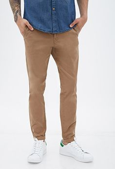 Classic Cotton Chinos | 21 MEN - 2000121005