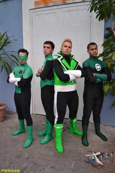 Green Lanterns from Earth. Super Power Con - São Paulo, Brazil. 2012