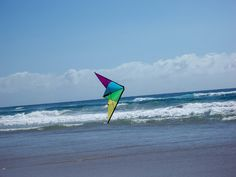 flying kites on beach - Google Search