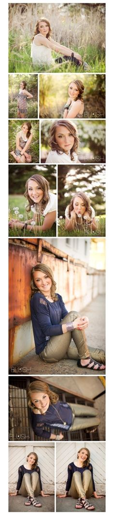 senior picture ideas... Like the poses a lot!