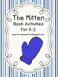 Mrs. Wheeler's First Grade Tidbits: The Mitten