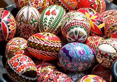 Czech Easter eggs: So much patience and skill, for such an ephemeral art!