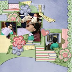 Primrose Prefers Pastels - Scrapbookcrazy Creations by Robyn Available at Go Digital Scrapbooking Store and My Memories