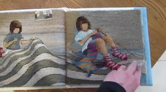 Sarah Swett, Casting Off; tapestry book