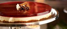 Mausteinen glögijuustokakku Cheesecake Pie, Cheesecake Recipes, Cheesecakes, Family Meals, Tiramisu, Panna Cotta, Food And Drink, Pudding, Xmas
